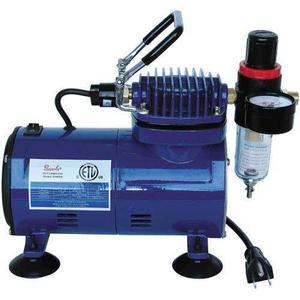 Paasche D500sr 1/8 Hp Compresor Con Regulador De Humedad Y