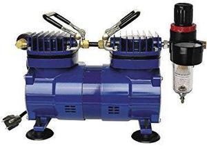 Paasche Da400r 1/4 Hp Compressor With Regulator And Moisture