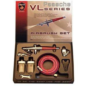 Paasche Vl-set Set De Aerógrafo De Doble Acción Con