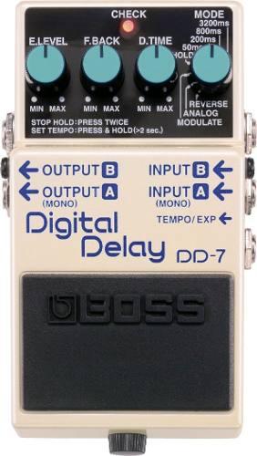 Pedal De Efectos Para Guitarra Delay Boss Digital Delay Dd-7