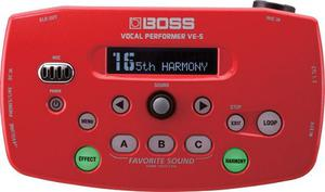 Procesador De Efectos Para Voz Boss Ve-5 Vocal Performer