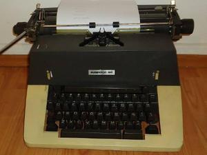 Antigua Maquina De Escribir Mecanica Remington 150 Vintage