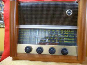 Antiguo Radio De Bulbos General Electric.onda Corta Y Larga