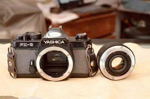 Camara Yashica Fx-3 Con 50mm 1:2
