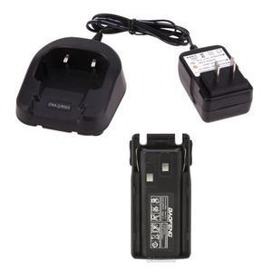 Cargador + Bateria Pila  Mah Para Radio Baofeng Uv-82