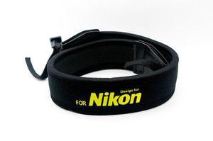 Correa P/ Camara Nikon Reflex Cinturón Neopreno