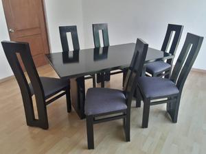 Excelente comedor de 6 sillas