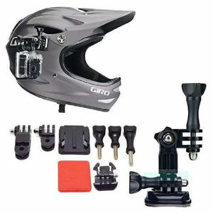 Kit Accesorios Para Casco Camara Gopro Helmet Envio Gratis!!