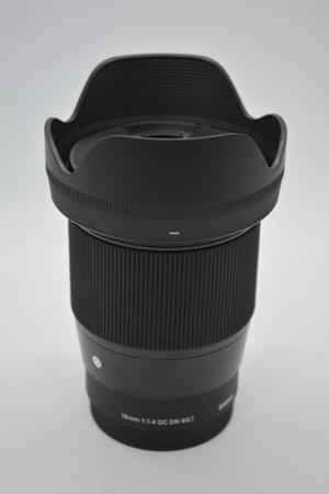 Lente Contemporánea Sigma 16 Mm F / 1.4 Dc Dn Para Sony E