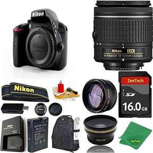 Nikon D3300 Dslr - 18-55mm Af-p 16gb Memoria Gran Angular Le