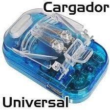 Paquete Con 10 Multicargadores Universales De Pilas Baterias