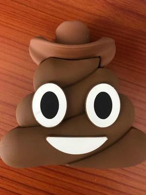 Pila Portátil Emoji Popo Cargador Power Bank  Mah