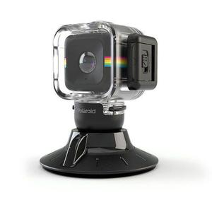 Polaroid Cube Case Waterproof /carcasa Sumergible+ Base: Bsg