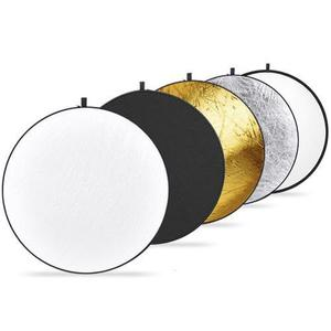 Rebotador 110 Cm Reflector 5 En 1 C/funda Fotografía Neewer