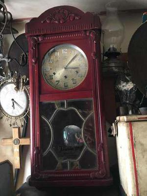 Reloj De Pared Junghans Antiguo Tres Cuerdas - Envió Gratis