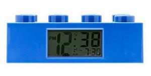 Reloj Despertador Friends Brick Lego Azul Niño Niña