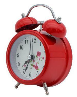 Retro Reloj Despertador Metal Regalo Madre Hogar Oficina2025