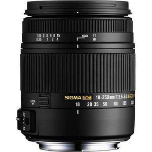 Sigma Lente 18-250mm F3.5-6.3 Dc Os Hsm Macro/para Nikon
