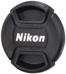 Tapa Lentes 52mm Con Logotipo Nikon Dslr