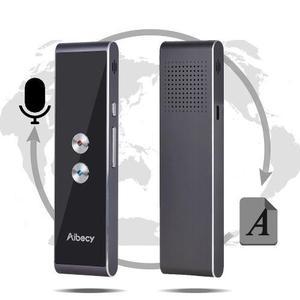 Aibecy T8s Real -time 40 Idiomas Traductor De 2 Vías