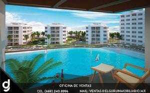 Departamento en venta en Bluu Habitat Lagoons Mazatlán /