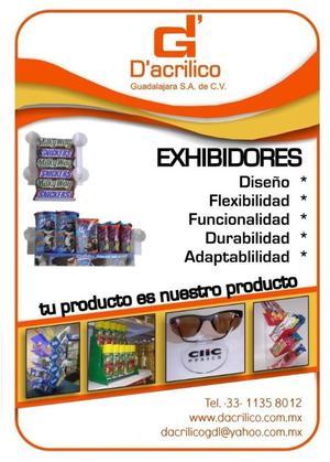 Exhibidores Acrílico Guadalajara