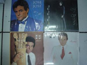 Jose Jose Lp Mi Vida, Gracias, Secretos Por Pza