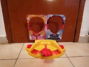 Juego de meza reto pastelazo para niños