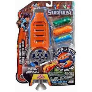 Lanzador De Babosas Slugterra Naranja 3 Dardos