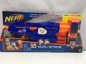 Nerf N-strike Elite Dual Strike Bonus Hasbro Envío Gratis