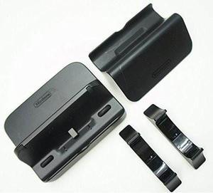 Nintendo Wii U Gamepad Negro Cuna / Soporte / Soporte De Co
