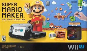 Nintendo Wii-u Super Mario Maker Nuevos Garantia