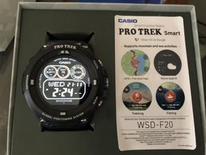 Reloj casio pro trek smart watch wsd f20