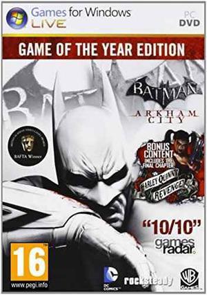 Videojuego Pc Batman: Edición Del Juego