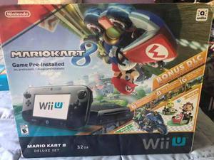 Wii U 32gb Mario Kart 8 Deluxe Incluido $6000