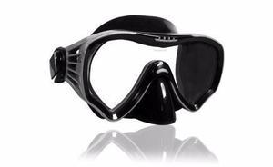 Mascara Escualo Modelo M25 Silicon Negro