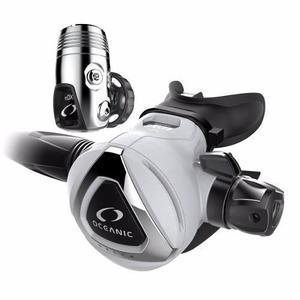 Regulador Delta 5 + Edx, Din, Blanco Oceanic Para Pesca Sub