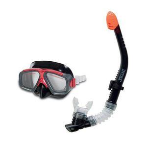 Set De Buceo Snorkel Intex Visor Y Tubo Respirador