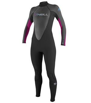 Traje Completo O'neill Wetsuits Womens 3/2 Mm Reactor, Negro