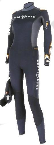 Traje Wetsuit Dive Full De 3mm Aqualung Para Mujer Buceo
