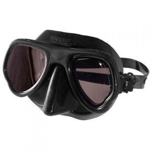 Visor Beuchat Micromax Para Apnea Color Negro/ Espejo