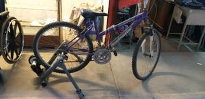 $$$ rodillo y bicicleta rodado 26...