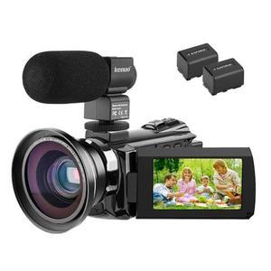 4k Vídeo Cámara De La Videocámara, Kenuo 48mp Portátil U