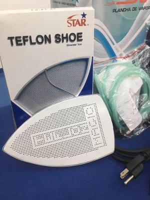 5 Pzs Zapato De Teflon 0.6mm P/ Plancha De Vapor Industrial