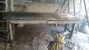 Banco de Trabajo para carpintería o molduras de yeso.