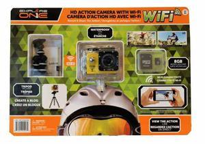 Cámara Videocamara De Acción De Alta Definición Con Wifi
