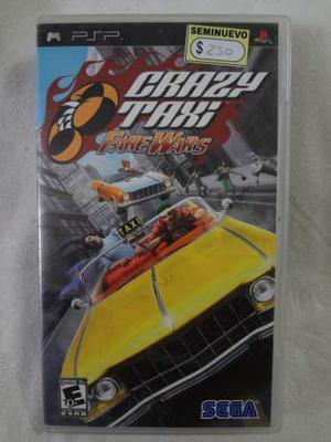 Crazy Taxi _ Fare Wars _ Psp _ Shoryuken Games