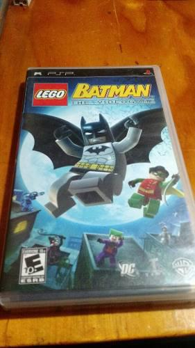 Lego Batman The Videogame Psp
