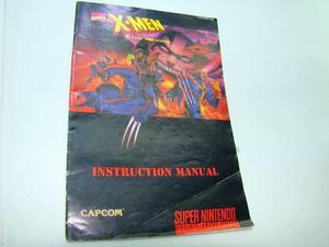 Manual X Men Mutant Apocalypse Snes,nes,snes,psp,ps4,xbox,36