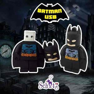 Memoria Usb 16 Gb Batman Liga De La Justicia